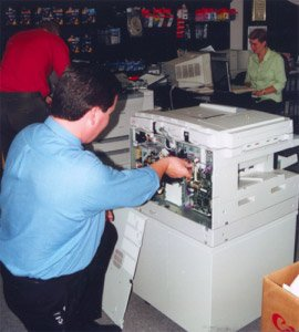 Cantec office around 1999