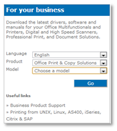 For Your Business Section Options