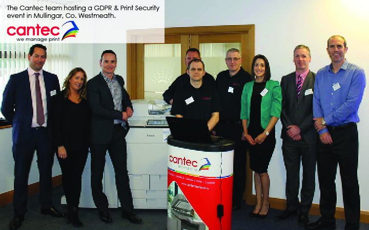 The Cantec Team-We Manage Print & Print Security