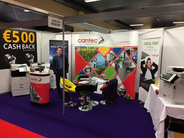 Cantec's stand at the IPPN Education Expo