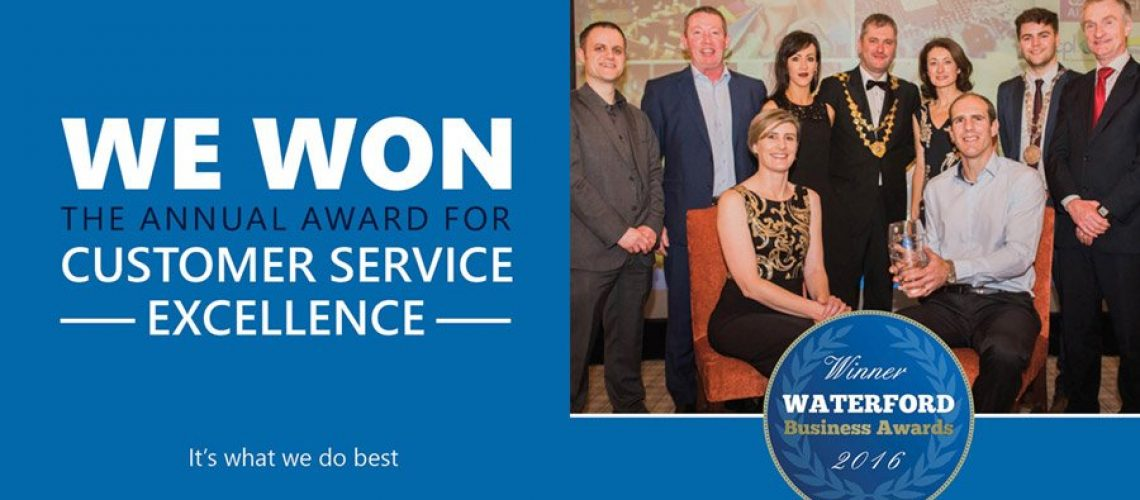 Cantec Winner Waterford Business Awards